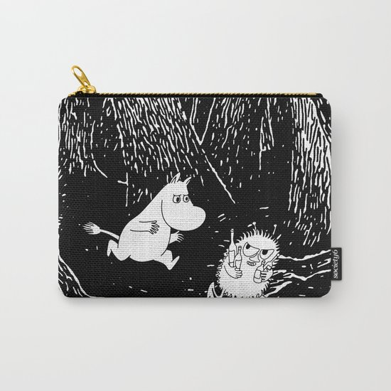 Moomins run for Stinky Carry-All Pouch