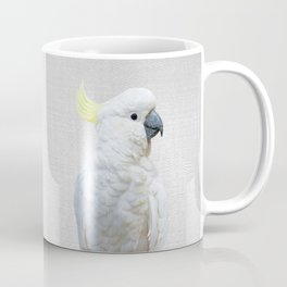 White Cockatoo - Colorful Coffee Mug
