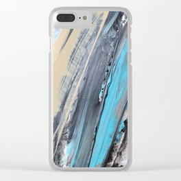 Caught Up Clear iPhone Case