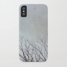 Dancing Branches iPhone X Slim Case