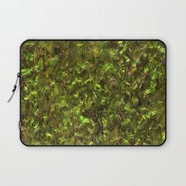 Abalone Shell | Paua Shell | Yellow Tint Laptop Sleeve