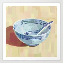 The Bowl You Grew Up With Art Print