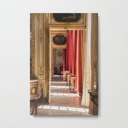 Halls of Gold Metal Print