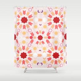 Summer Arabesque Shower Curtain