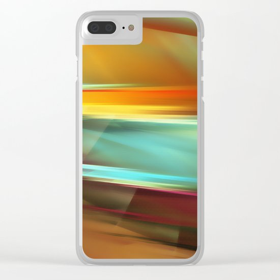 Sunset 2 Clear iPhone Case