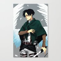 levi Canvas Prints featuring Levi by MelCassells