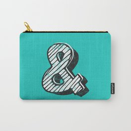 Ampersand sketch - typography Carry-All Pouch