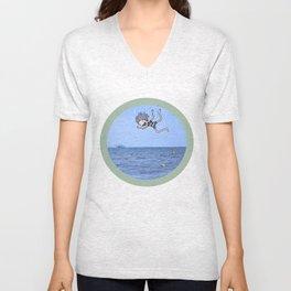 Ocean Flop Unisex V-Neck
