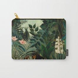 The Equatorial Jungle - Henri Rousseau Carry-All Pouch