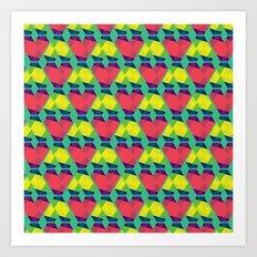 BP 82 V Diamonds Art Print