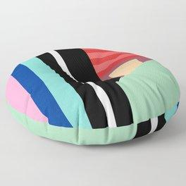 Cityscape 86 Floor Pillow