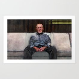 You Wanted Me To Talk - Better Call Saul Art Print