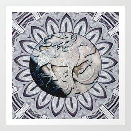SOLO ACT Art Print