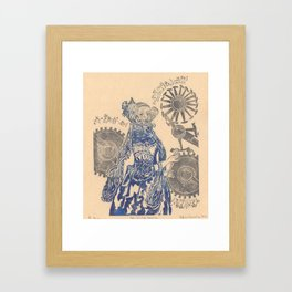 Ada, Countess Lovelace, Enchantress of Numbers Framed Art Print