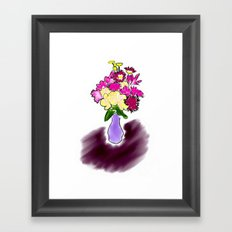 Bright Bouquet Framed Art Print