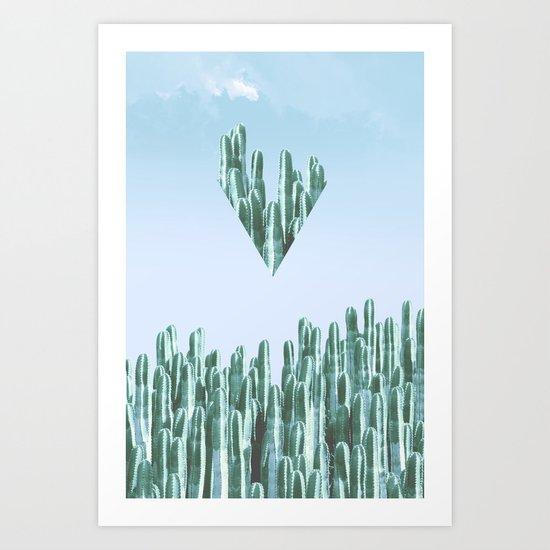Cacti II Art Print