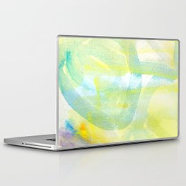 water color abstract painting_8 Laptop & iPad Skin