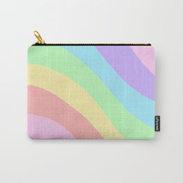 Unicorn Retro Summer Wave #1 #minimal #decor #art #society6 Carry-All Pouch