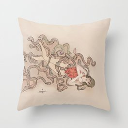 warm the cockles of my heart Throw Pillow