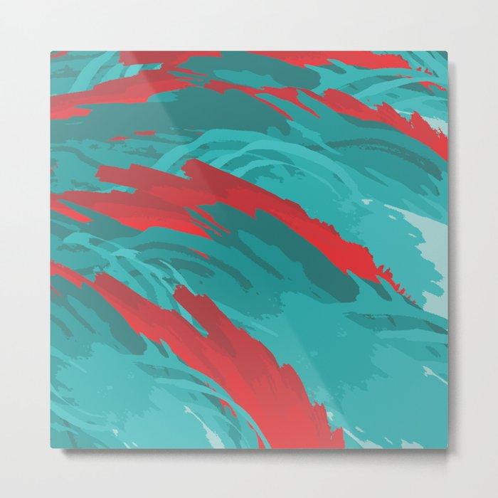 Dragon Sea Metal Print