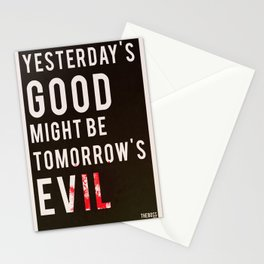 Metal Gear Solid Quote Stationery Cards