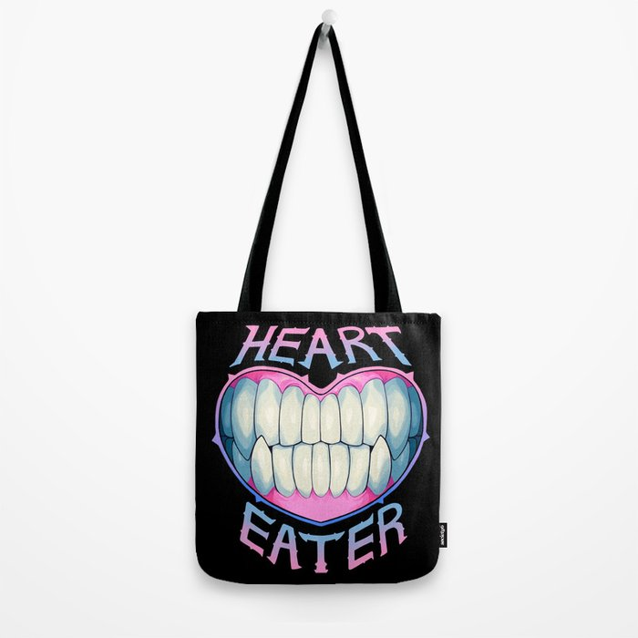 heart eater Tote Bag