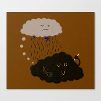 bad idea Canvas Prints featuring not a bad idea by Zachary Huang