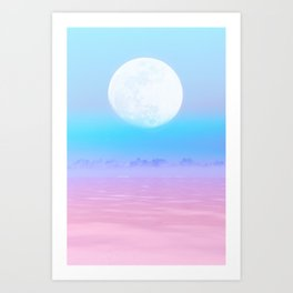 Beauty for ashes Art Print