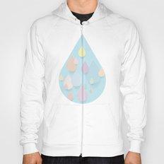 Pastel Raindrops Hoody
