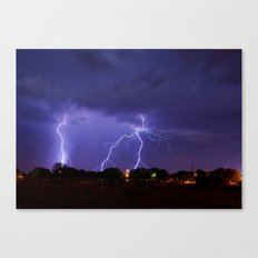 New Mexico Lightning Canvas Print