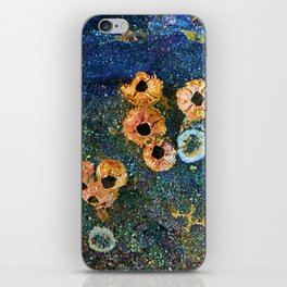 Abstract beautiful barnacles iPhone Skin