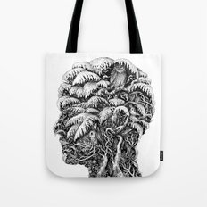 Portrait of Winter Tote Bag