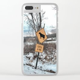 Cattle X-ING Clear iPhone Case