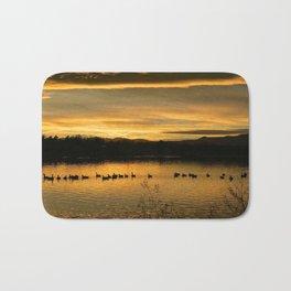 Lake Arbor Sunset II Bath Mat