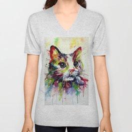 Animal Art  #7 Unisex V-Neck