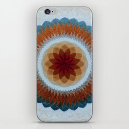 Toroidal Floral (ANALOG zine) iPhone Skin
