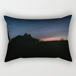 sunset panorama Rectangular Pillow