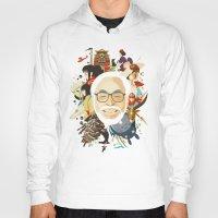 miyazaki Hoodies featuring Miyazaki-San by Danny Haas