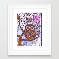 discount Framed Art Prints featuring If Klimt Painted An Owl :) Owls are darling birds! by Love2Snap