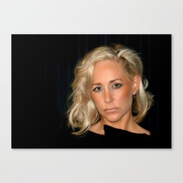 Blond Woman Canvas Print