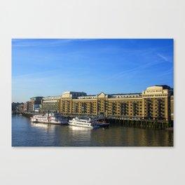Butlers Wharf Canvas Print