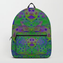 """Be yourself (Pop Fantasy Colorful Pattern)"" Backpack"