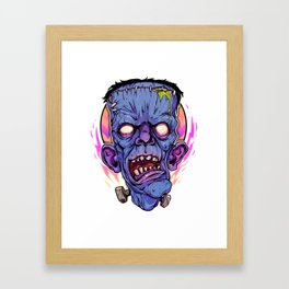 Old Man Frank Framed Art Print
