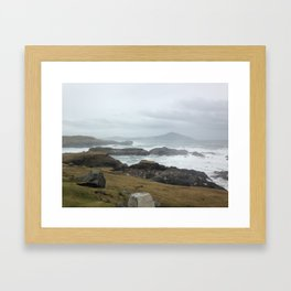 In to the West Framed Art Print