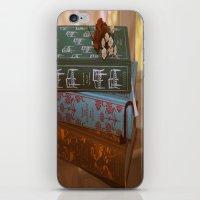 jane austen iPhone & iPod Skins featuring Jane Austen by Whimsicalland