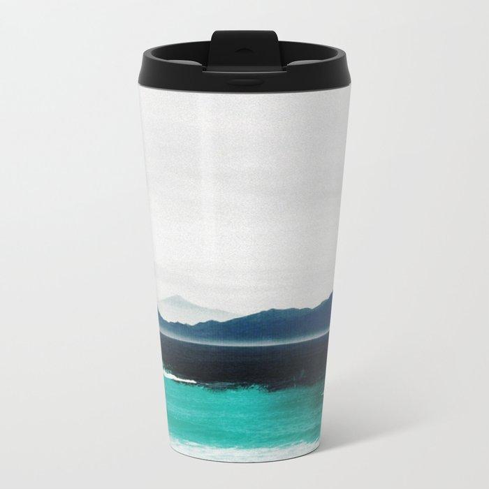 Blue coast Metal Travel Mug