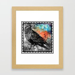 Raven - Focal Framed Art Print