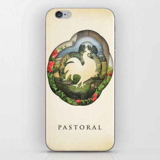 pastoral iPhone & iPod Skin
