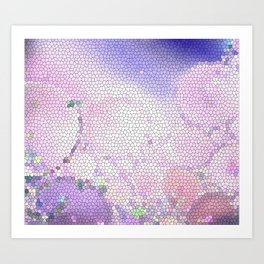 You Can't Stop the Lavender Art Print