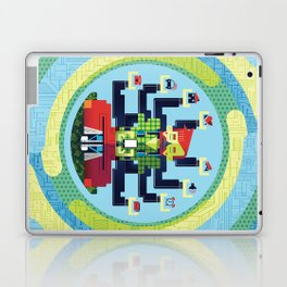 Technology Hub Laptop & iPad Skin